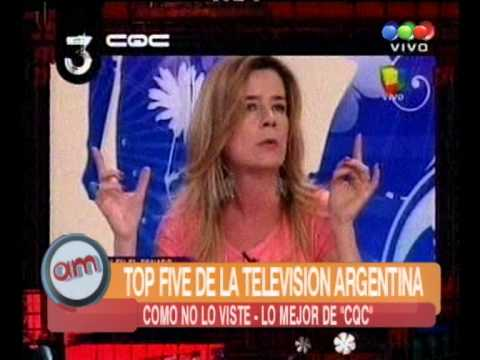 Top five de la televisión argentina , CQC  - AM