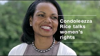 Condoleezza Rice on women