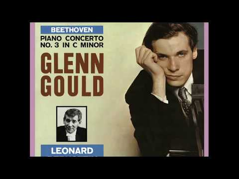 Beethoven Piano Concerto No. 3 / Glenn Gould, Columbia Symphony Orchestra, Bernstein (1960/2015)