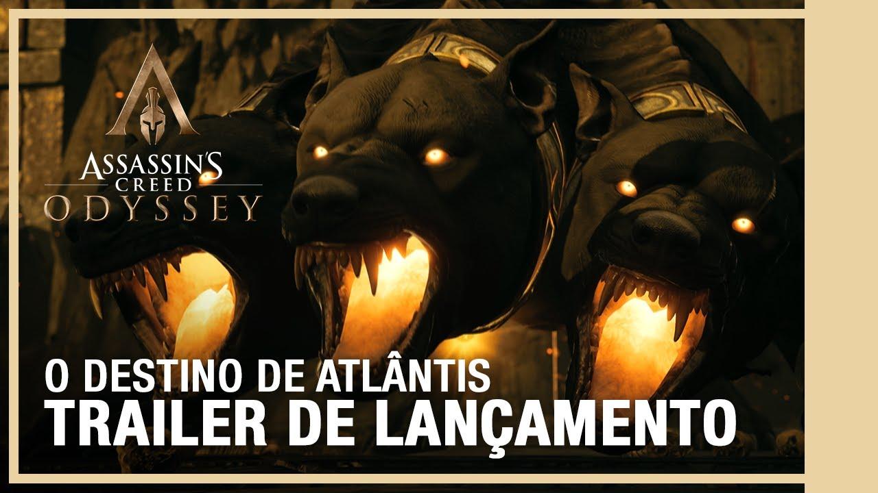 O DESTINO DE ATLÂNTIS | Assassin's Creed Odyssey - Trailer de lançamento