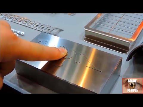 электроэрозионная обработка демонстрация уникальных деталей без зазоров