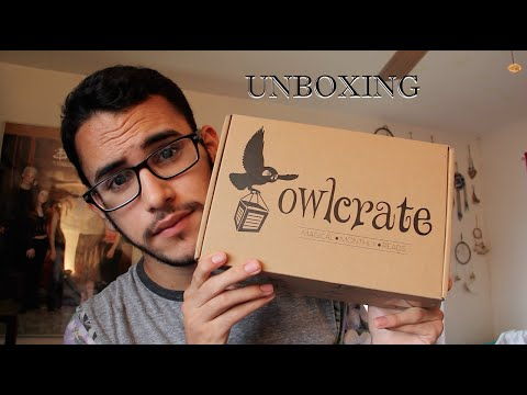 May Owlcrate Unboxing!!