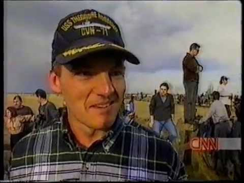 CNN WORLD NEWS AVIANO AIR BASE ITALY OPERATION ALLIED FORCE 1999