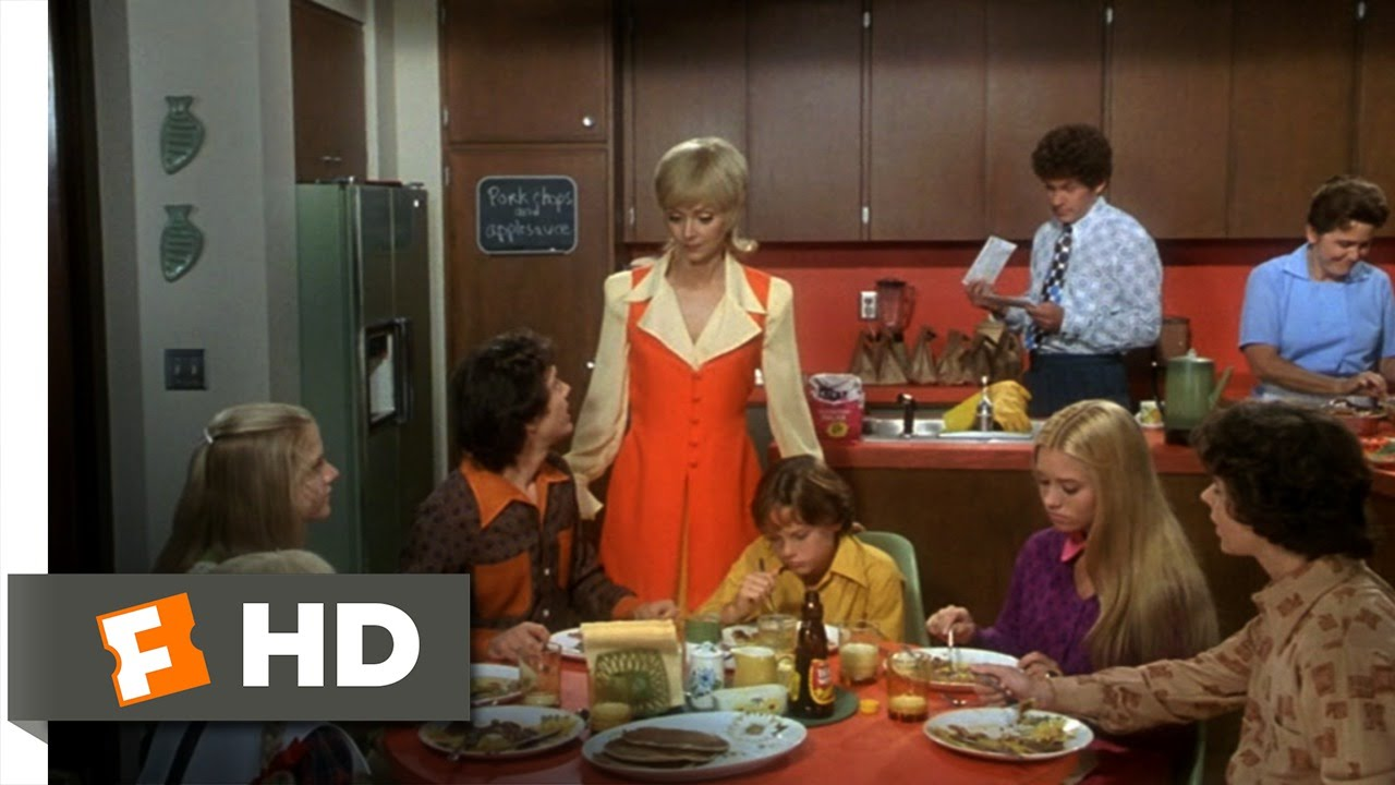the brady bunch movie (2/10) movie clip - breakfast with the