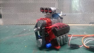 BUILD OF THE ENGINE KIT OVH V8 RC SCALE 1/10 FUNCTIONAL (TUTO)