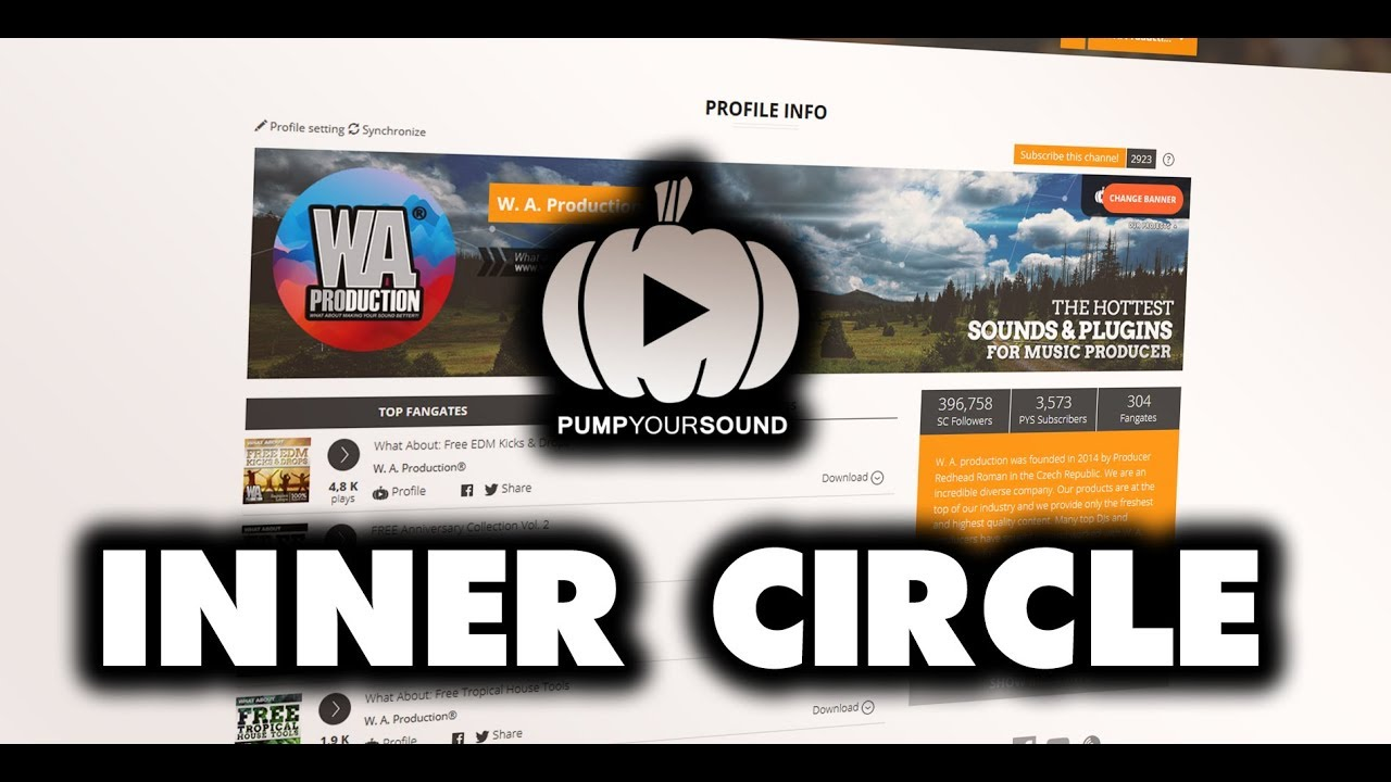 Pump Your Sound Tutorial 5: Inner Circle / Automatic SoundCloud Reposts |  pumpyoursound com