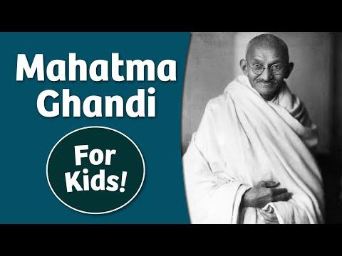 Mahatma Ghandi For Kids