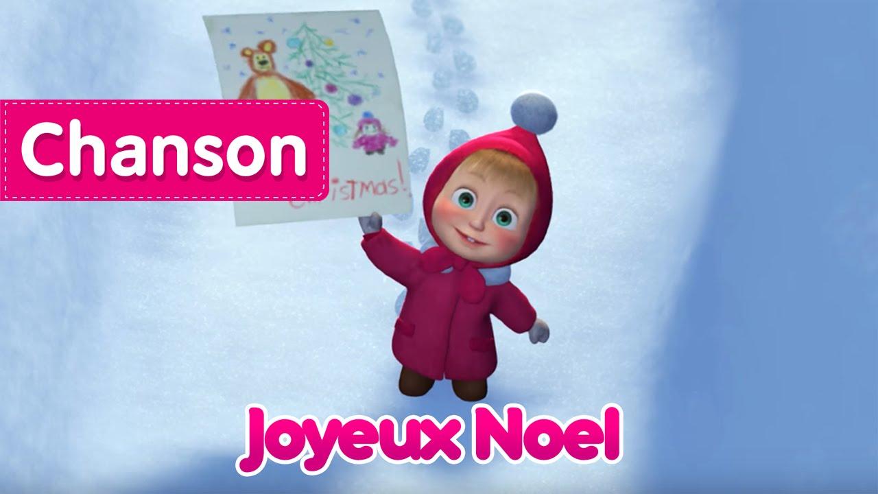 Chanson Un Joyeux Noel.Masha Et Michka Chanson Joyeux Noel 3 2 1 Joyeux Noel