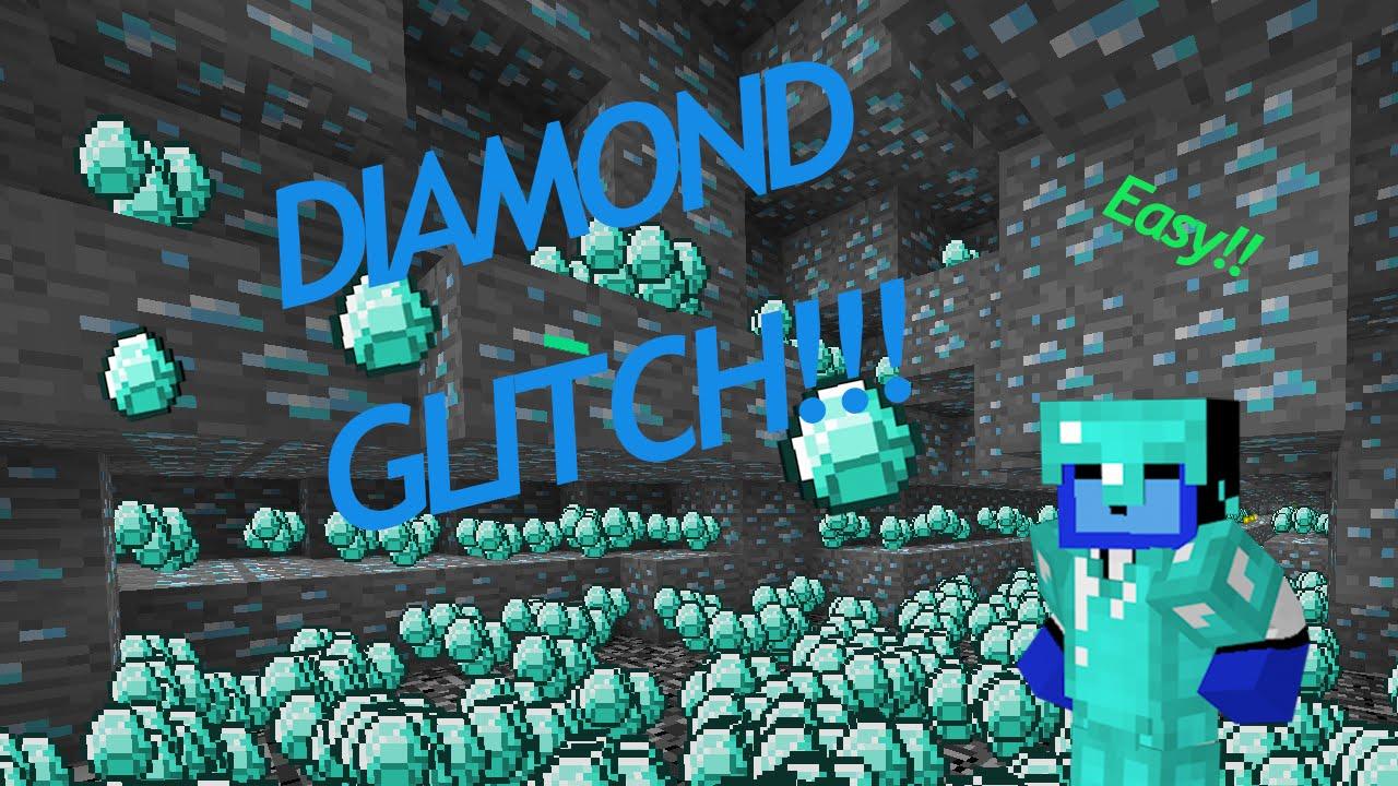 Minecraft Diamond Glitch SkyWarkerHD YouTube