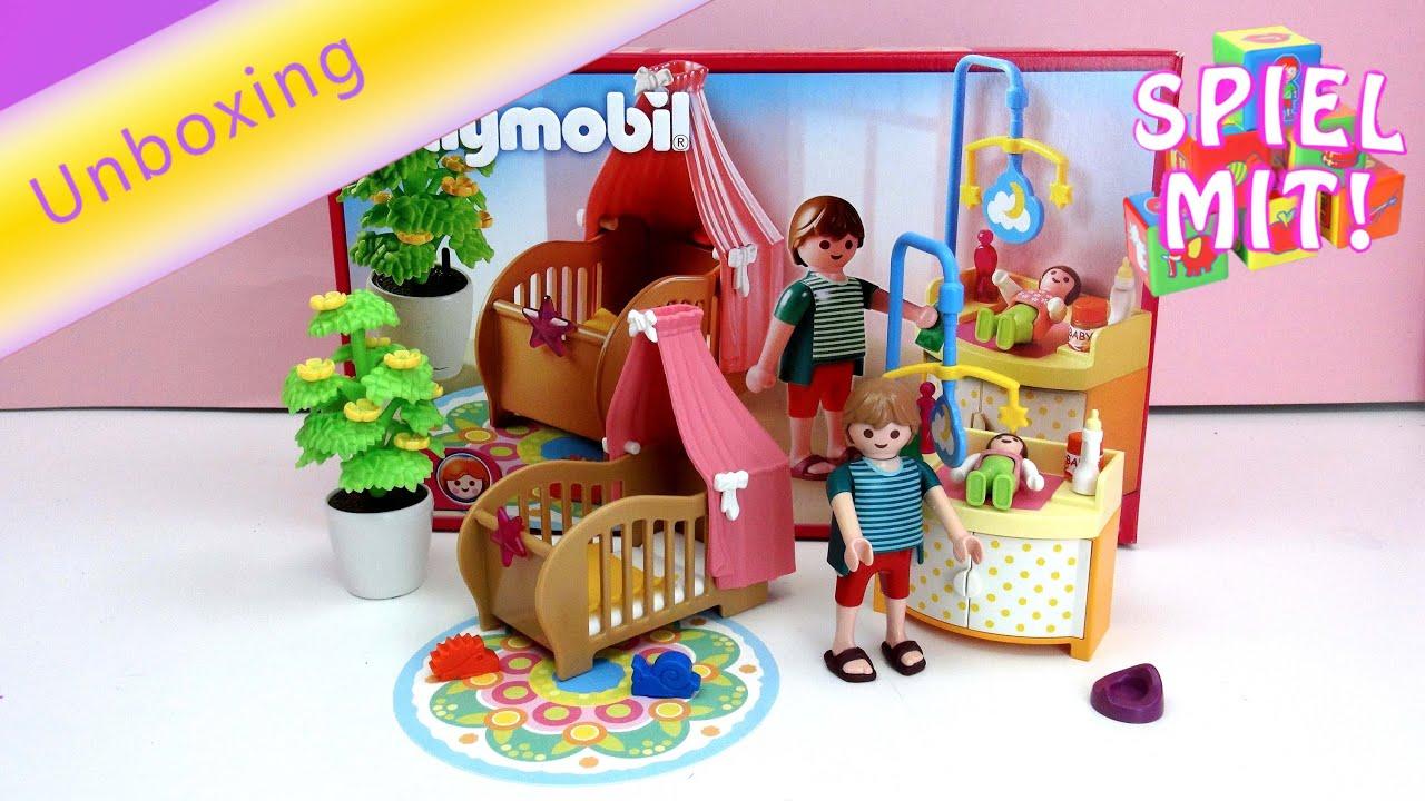 Playmobil Zauberhaftes Babyzimmer - Kinderspielzeug 5334 Unboxing ...