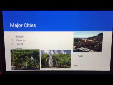 Alex Koehler - Federated States of Micronesia