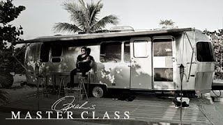 Why Lenny Kravitz Seeks Solace in an Airstream Trailer | Oprah's Master Class | OWN