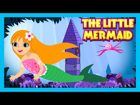 The Little Mermaid Fairy Tales And Bedtime Story For Kids | Animated Full Story