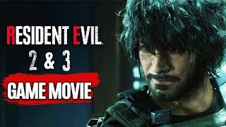 Resident Evil 2 and 3 Remake All Cutscenes (Chronological Order) Game Movie 1080p 60FPS