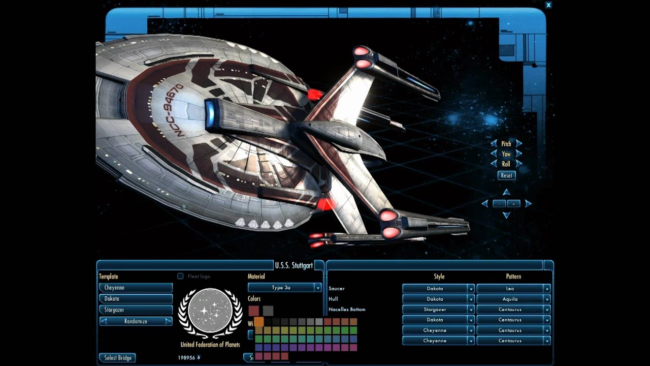 Star Trek Online Ship Customization | Doovi