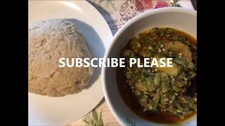 How To Make Simple Okra Soup #1  (VERY DELICIOUS)