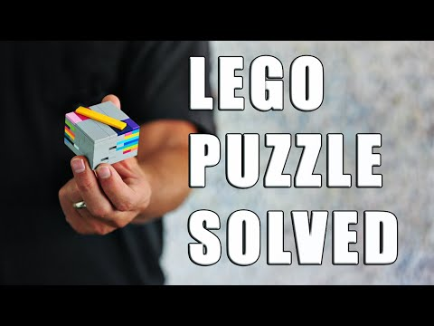 SPOILERS!! How To Solve TIDES Lego Puzzle Box