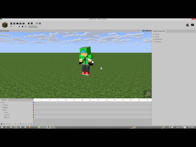 0002【Mine-imator】:如何做戰鬥動畫