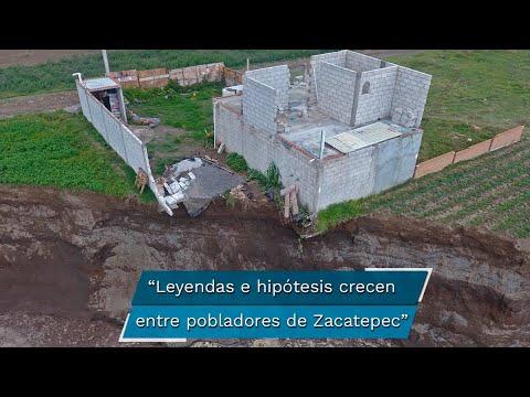 Socavón en Puebla. Todo un misterio lo que ocurre en las profundidades del socavón