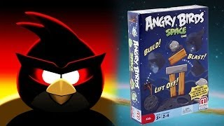 ANGRY BIRDS in SPACE Game by Mattel. Total Destruction!