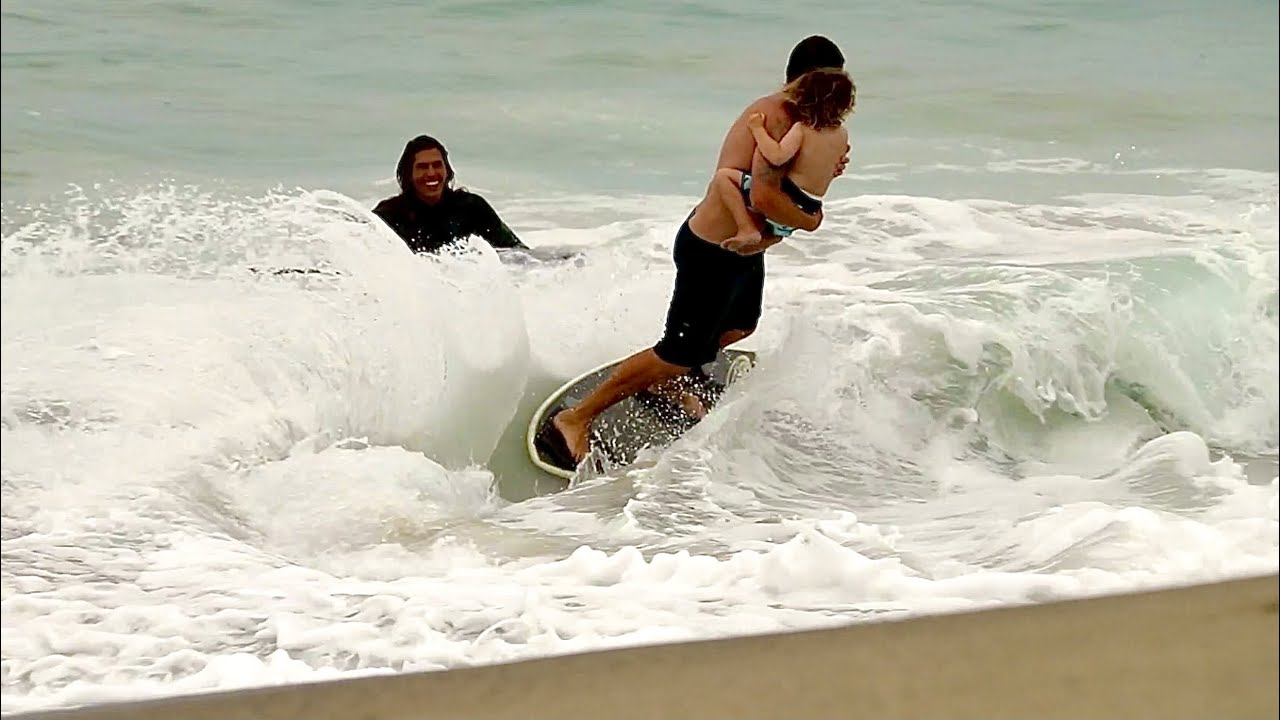 The Skimboarding Family With Guest host Timmy Gamboa