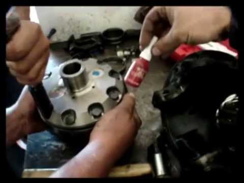 Air Locker Install Into Toyota Front Diff Center Youtube