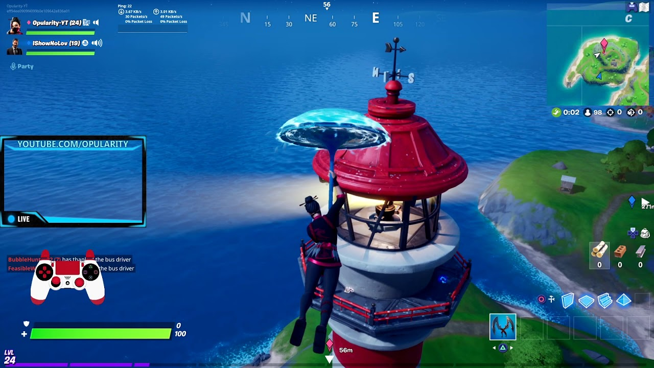 Dance At Compact Cars And Weather Station Fortnite