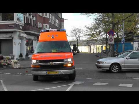 A1 Ambulance 13-166 MUNTPLEIN AMSTERDAM