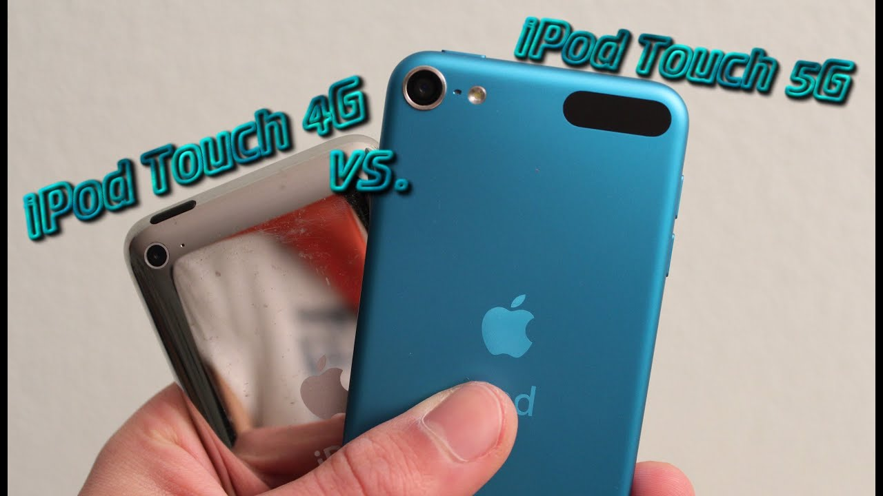 iPod Touch 5G vs. 4G Speed Test & Hardware Comparison ...
