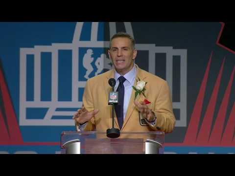 Kurt Warner Thanks Dad In Pro Football Hall Of Fame Speech | ESPN