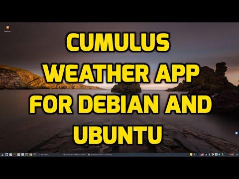 Cumulus Weather App for Ubuntu and Debian Distros