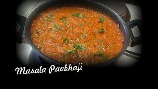 Masala Pav bhaji video recipe- Indian Recipes by Bhavna