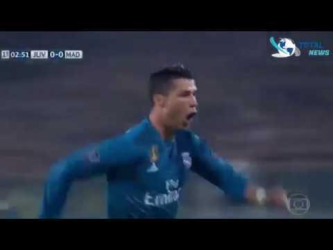 But de Cristiano Ronaldo Real Madrid Juventus League des Chamipions 2018