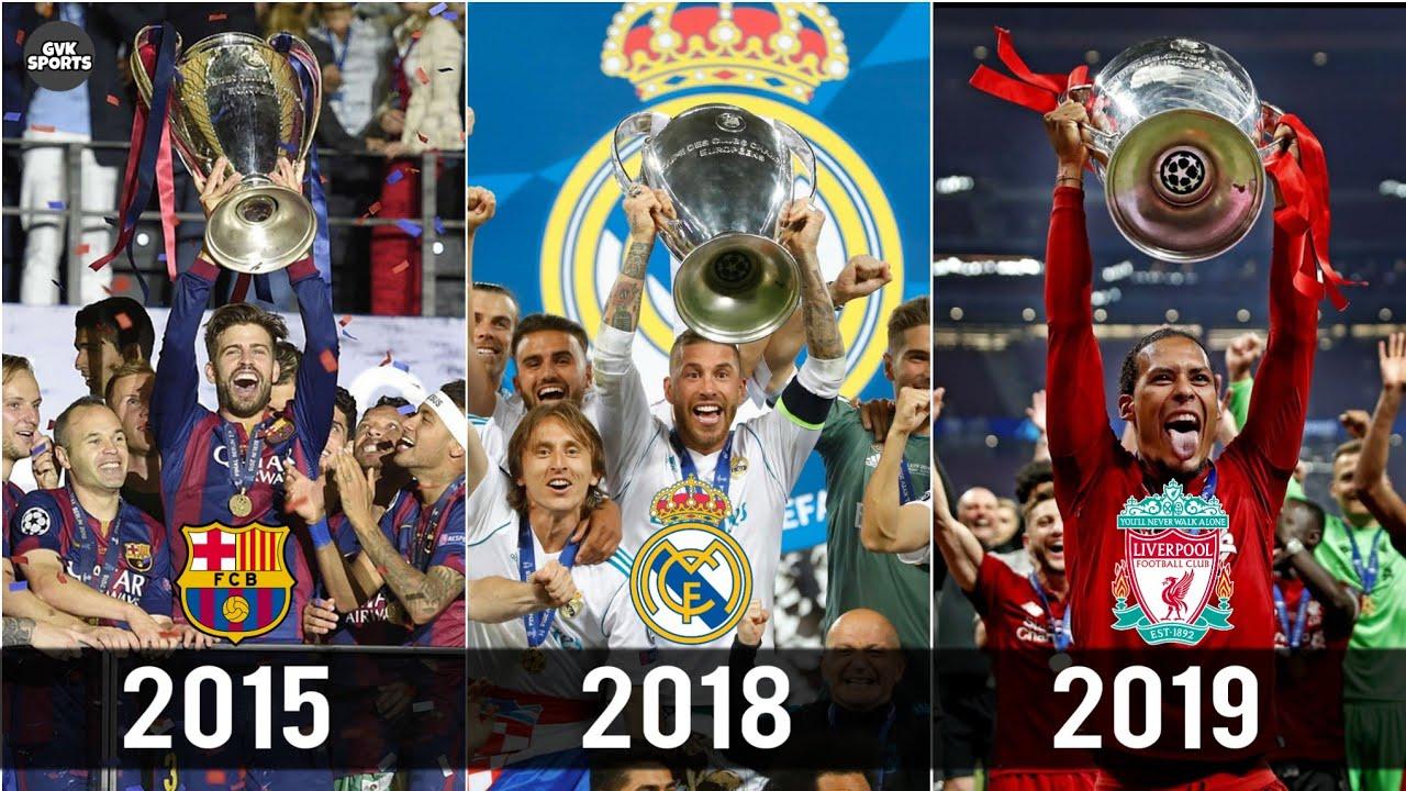 Champions League Titel Liste