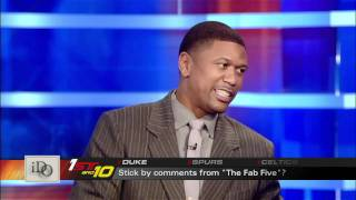 Grant Hill takes issues with Fab Five comments, Jalen Rose Responds