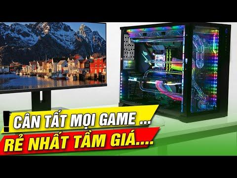 Bộ cây máy tính 2 triệu... chiến mượt game online làm youtube thỏa mái