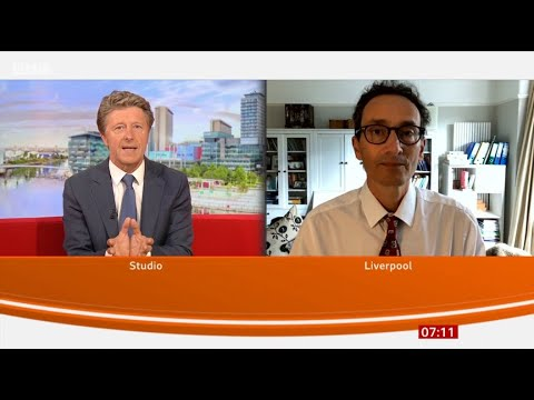 BBC Breakfast - new Coronavirus test with results in 90 minutes
