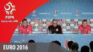 Konferencja prasowa reprezentacji Polski (Marsylia 29.06.2016)