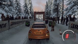 DiRT Rally 2.0 - Subaru WRX STI NR4 - Rally Sweden Gameplay [4K 60FPS]