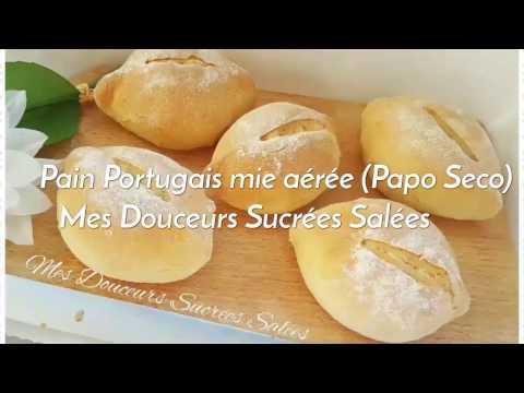 Pains Portugais à la mie aérée