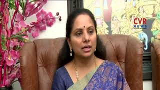 MP Kavitha Speaks over Monsoon Parliament Sessions | CVR NEWS