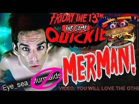 Friday the 13th: Trap-Killing The MerMAN!!