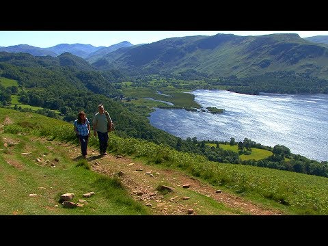 FOOTLOOSE IN ENGLAND'S LAKE DISTRICT travel guide video in HD