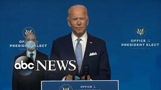 President-elect Joe Biden announces Cabinet nominations