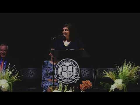 North Cobb Christian School  - Baccalaureate Talk  2018 -  Amber Timms