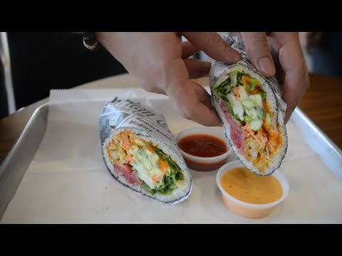 Rolling Fish Brings Sushirrito To San Antonio