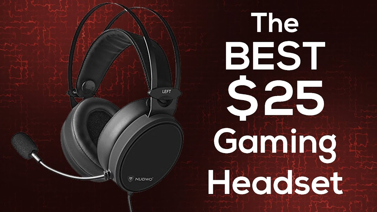 a4448d680f2 The BEST $25 Gaming Headset?! - Nubwo N7 Review - YouTube