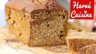 Recette Cake Banane Amande sans beurre et sans sucre ajouté