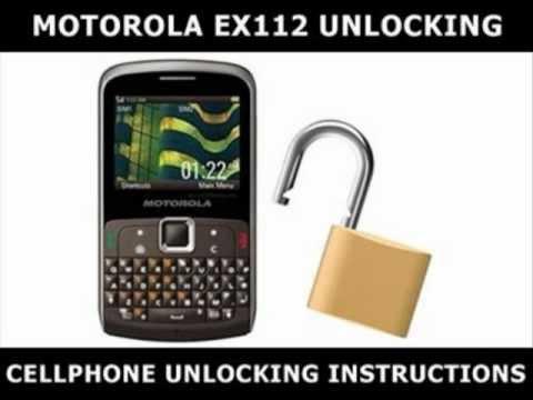 How to Unlock Any Motorola EX112 Using an Unlock Code