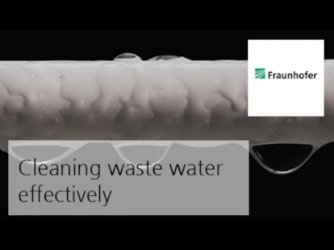 Cleaning waste water effectively